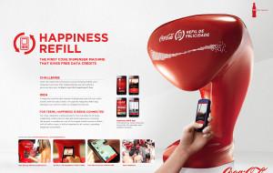 Abra a felicidade – Refil de Felicidade Coca-Cola